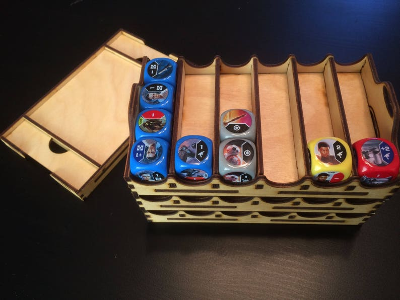 Organizer trays for Star Wars Destiny dice game Design image 0