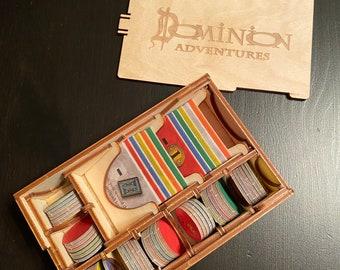 Officially licensed Dominion Adventures Token Organizer