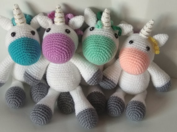 ▷ 9 Tutoriales de UNICORNIOS TEJIDOS a crochet   9️⃣🦄   428x570