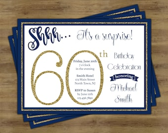 Surprise 30th Birthday Invitation Surprise Birthday Etsy