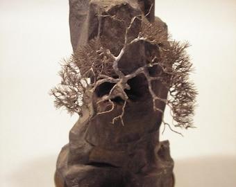 Bonsai Tree and Rock Sculpture Design 2