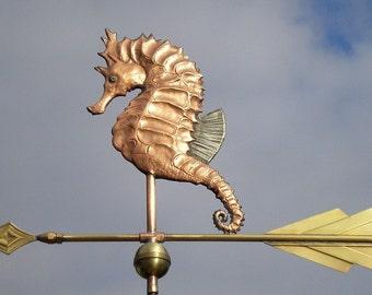 Weathervane Custom Made Art Deco Seahorse