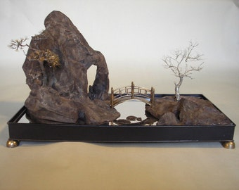 Chinese Rock and Water Seascape, Penjing