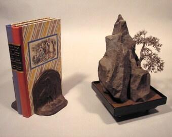 Bonsai Tree and Rock Sculpture Design 3