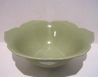 pottery bowl salsa bowl serving bowl salad bowl lotus bowl Ceramic bowl handmade pottery Beth Deutscher blue bowl