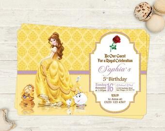 La Sirenita Ariel Invitación De Cumpleaños Imprimible O Etsy