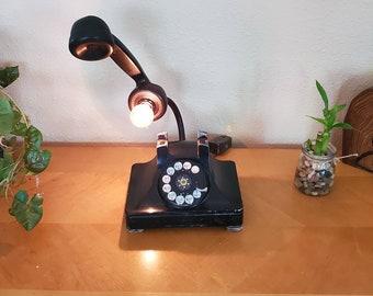 Alfred Hitchcock influenced Mason jar small lamp nightlight