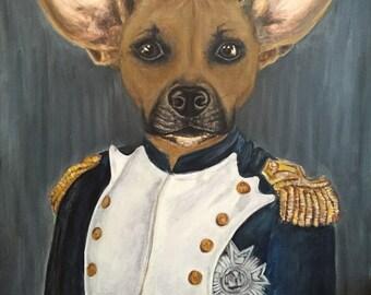 Custom Acrylic Dog Portrait