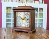 Hidden Storage Clock, Concealment Furniture, Functioning Bracket Clock, Westminster Chime, Discreet inconspicuous Storage Jewelry Box