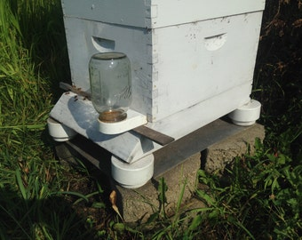 HONEY BEE Hive DIY Auto Ant Repellent Platforms How To Do, Beekeeping Gift,  4th of July Special,Digital File Download