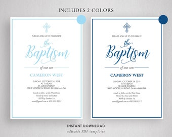 Diy baptism invite etsy calligraphy baptism invitation diy baptism invite editable baptism invitation boy baptism pdf boy baptism templatebaptism pdf solutioingenieria Image collections