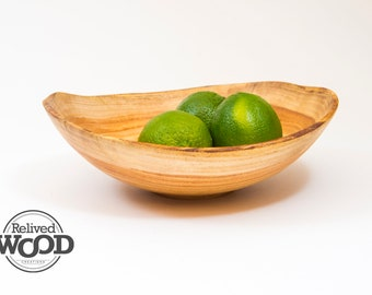 Beautiful Honey Locust Hand Made Wooden Bowl Display Decor Functional – Kent Weakley – 102747D