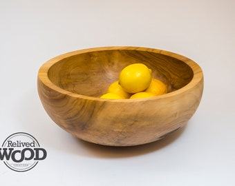 Beautiful Spalted Tulip Poplar Functional Wooden Bowl Hand Made Decor Display Centerpiece Gift – Kent Weakley – 110336D