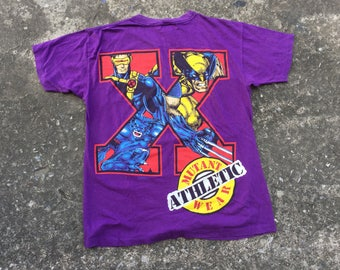 70a56a499 Vintage 90s X-MEN MARVEL COMIC Tshirt