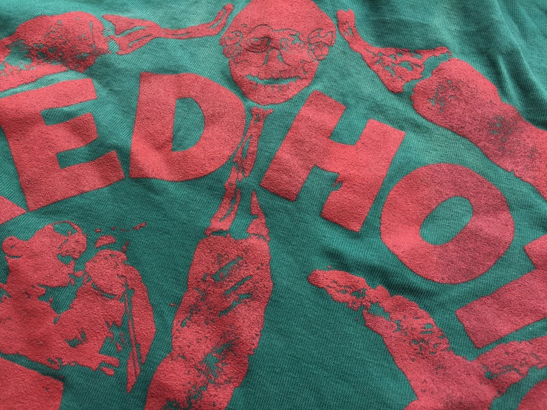 Vintage bootleg Red Hot Chili Pappers Polo shirt