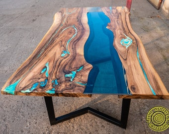 Live Edge Table Etsy