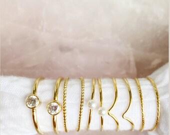 Braided  ring- B Size 8