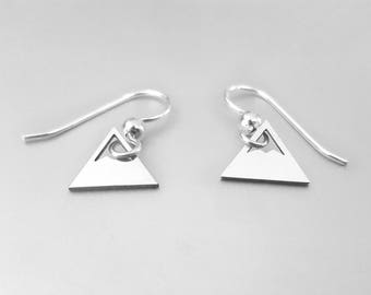 Mountain Earrings, Mountain Jewelry, Outdoor Earrings, Mountain Range, Landscape Earrings, The Mountains Are Calling