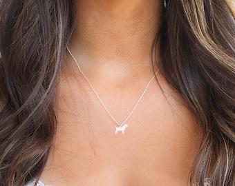 Beagle Necklace • Custom Dog Necklace • Dog Necklace • Dog Pendant