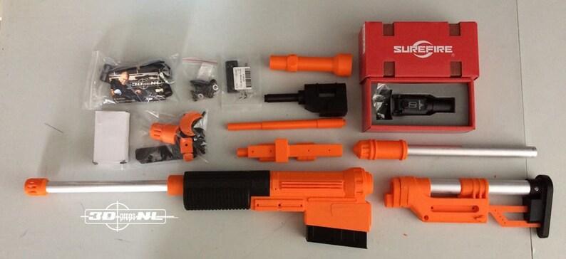 Rebel Sniper Blaster Rifle A-280 CFE Modular DIY or RTU image 0