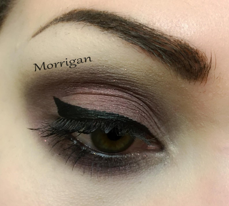 MORRIGAN  Handmade Mineral Pressed Eye Shadow image 0