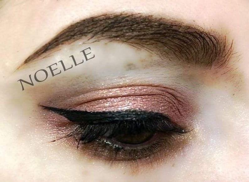 NOELLE  Handmade Mineral Pressed 26mm Eye Shadow image 0