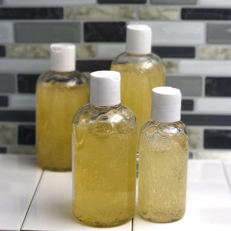 Organic Scented Sulfate and Paraben-Free Herbal Shampoo and image 0