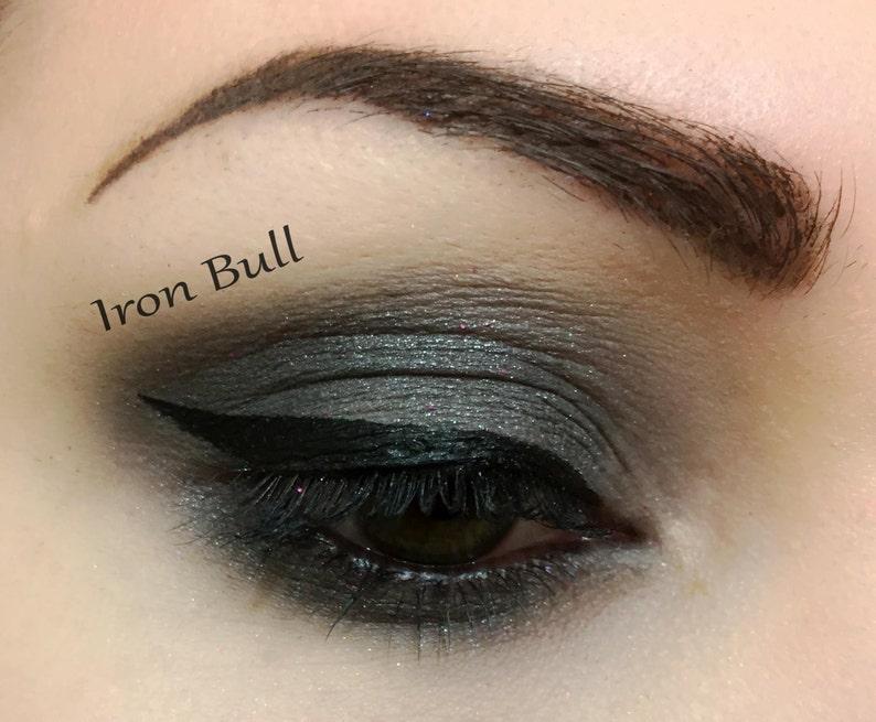 IRON BULL  Handmade Mineral Pressed 26mm Eye Shadow image 0