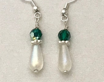 Crystal & Swarovski earrings