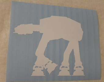 Star Wars AT-AT Decal Any Size Any Colors