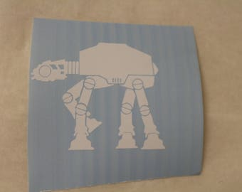 Star Wars AT-AT Walker Decal Any Size Any Colors