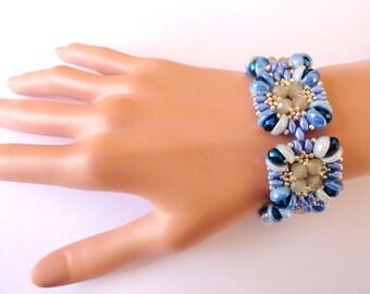 tutoriel pas à pas du bracelet Tamaya