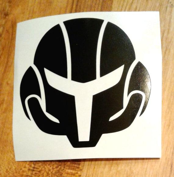 Metroid Love Sticker Metroid Chibi Vinyl Decal Baby Metroid Decal