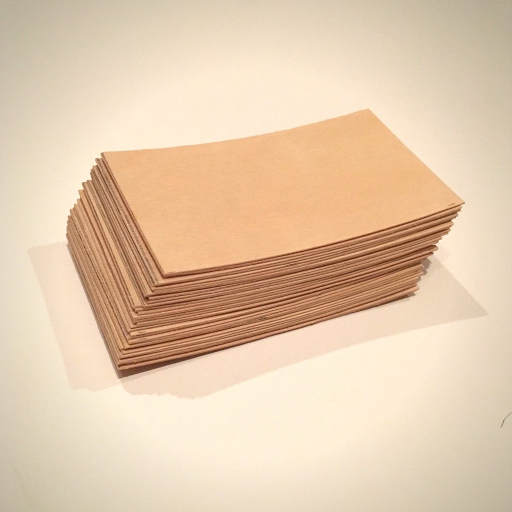 Wood Business Cards - Set of 100 - Blank Wood Cards - Wood Tags ...