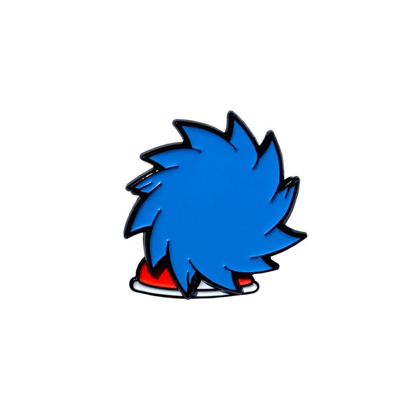 Sonic Enamel Pin