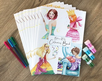 Colouring book, kids activity, art gift, colouring book for children