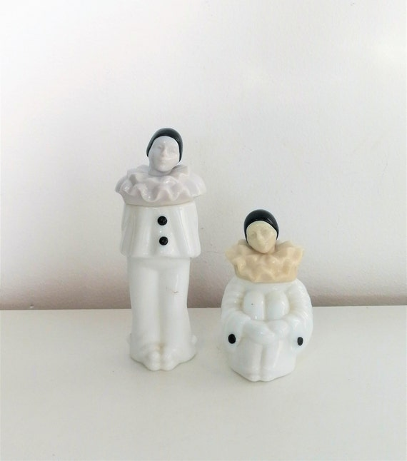 Avon Pierrot Perfume Bottles with cologne,Collecti