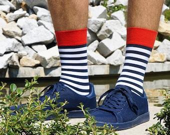 Parrot striped socks, mens socks, womens socks, gift for men ideas, womens gift, funny socks, great colorful socks, boyfriend gift socks