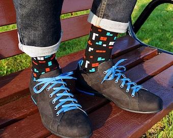 Socks Good Times - mens socks, casual socks, cool socks, unique socks, funny socks, patterned socks, colorful socks, christmas gift socks