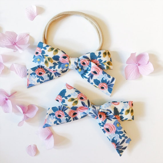 Tied  Bow School Girl Blue Rifle Paper Company