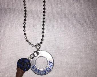 Hogwarts House Lollipop Necklace