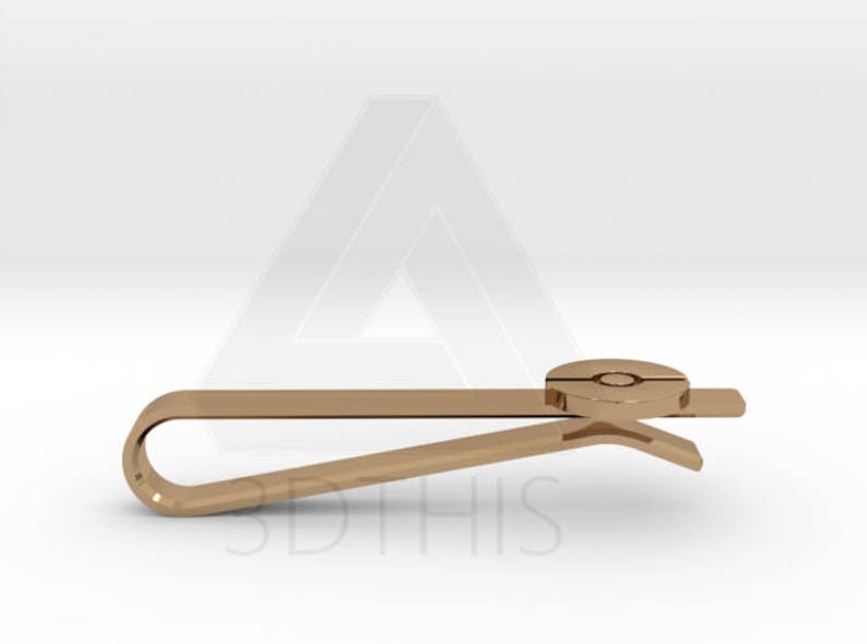 Gold Sterling Silver Rose Gold Geek and Gaming Clip Pin /& Cufflinks Bronze Pokemon Pokeball Tie Bar