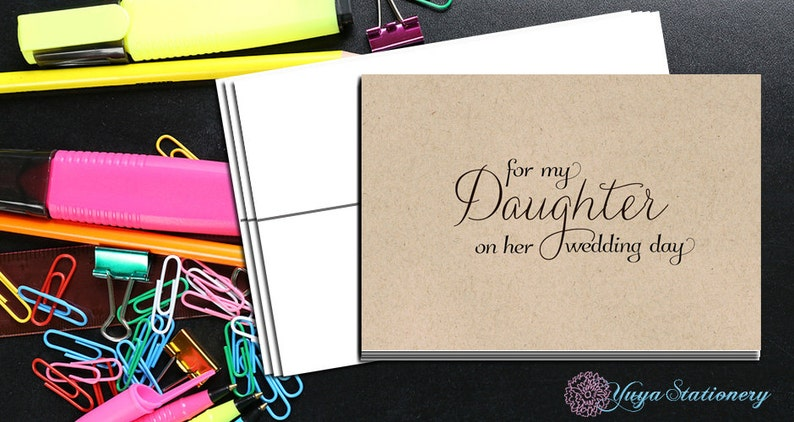 For my daughter on her wedding dayFor my daughter wedding day wishesdaughter wedding day note