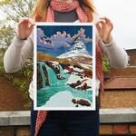 Kirkjufell-Iceland A3 Giclée print
