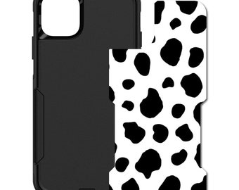 Choose Model - Custom Monogram or Image Black Yellow Gray Music Notes OtterBox Commuter for Apple iPhone
