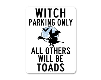 Witch Parking Only Etsy