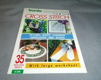 Burda Cross Stitch Etsy
