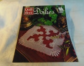 Crochet Patterns, Doilies, Quilt Block, by Annie 39 s Attic 879004 1996 Home Decor, Room Decor