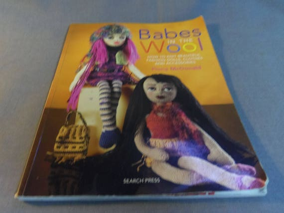 Knitting Patterns Babes In The Wool Fashion Dolls Clothes Etsy