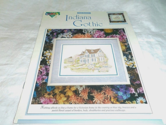 Stopping In The Garden Cross Stitch Chart Victorian Baby Carriage Danny Munns